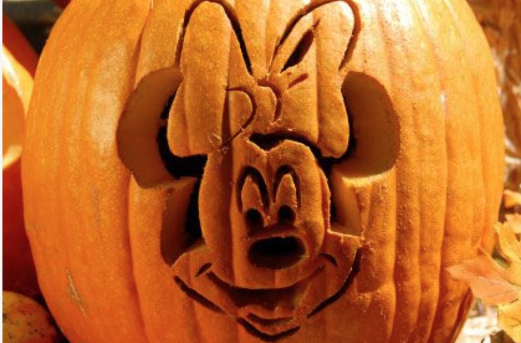 Minnie Mouse printable pumpkin pattern. | The Dating Divas