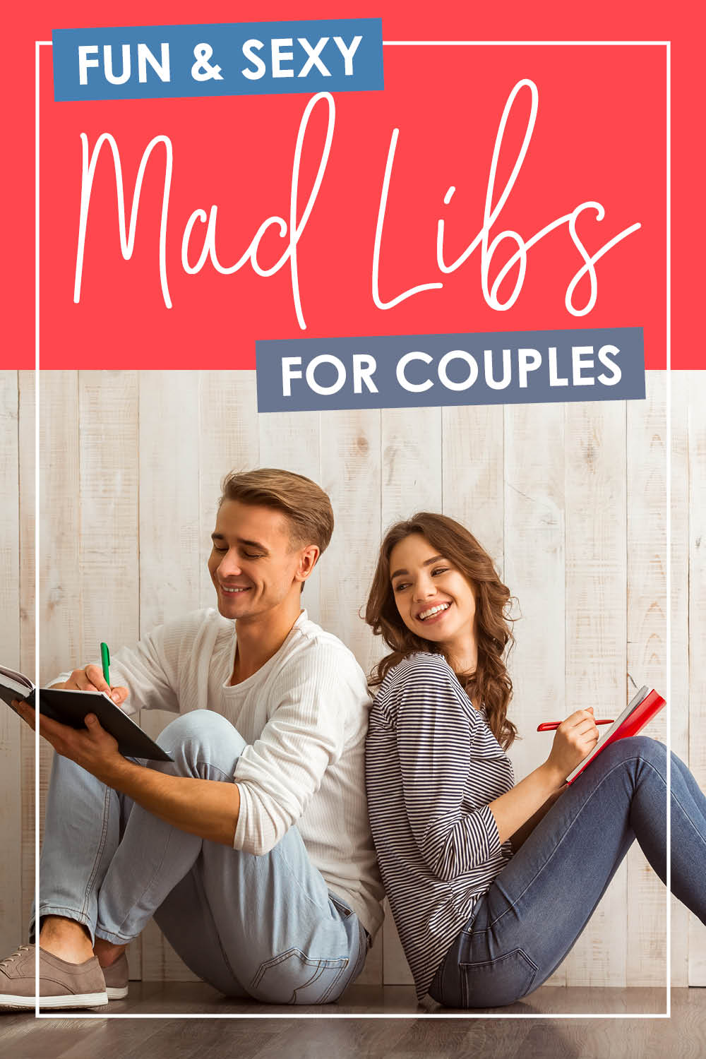 Turn up the heat in your marriage--while laughing like crazy together with sexy mad libs for adults! #madlibs #madlibsforadults #printablemadlibs