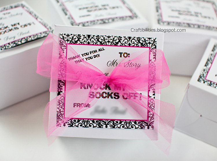 Surprise your teacher with some socks! | The Dating Divas