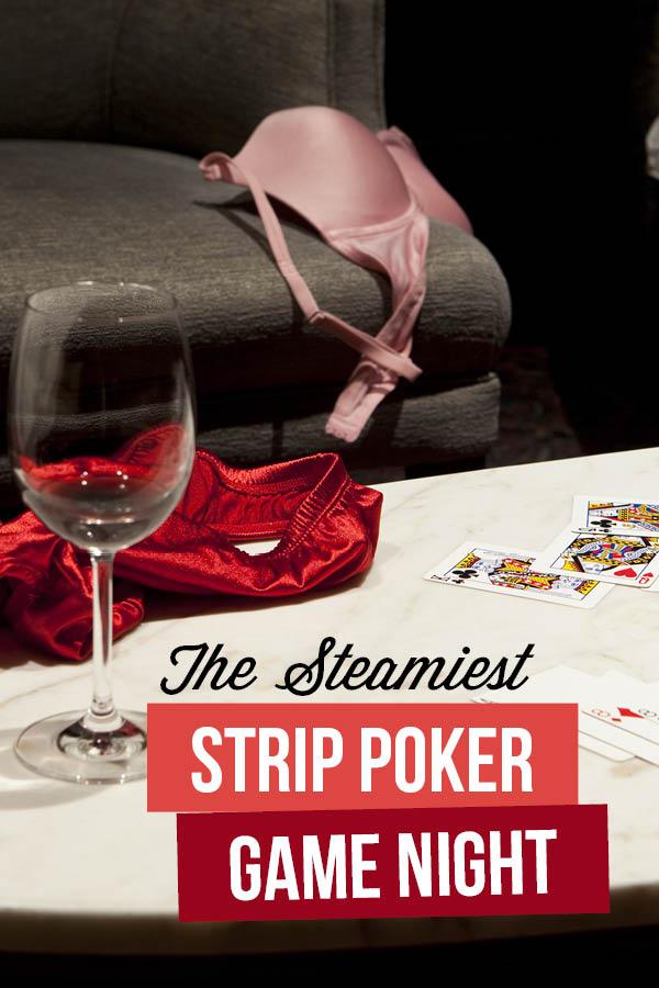 Strip poker game night   The Dating Divas