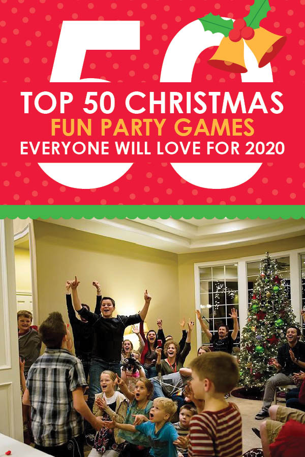 List of 50 Christmas party games for 2020. | The Dating Divas