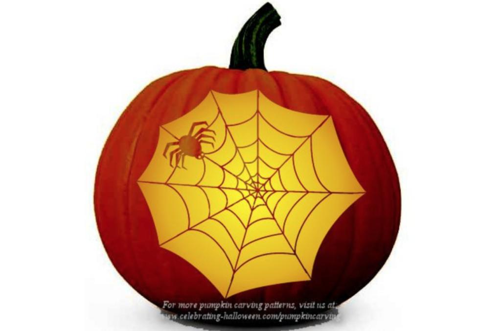 Spider Web Pumpkin Inspiration | The Dating Divas
