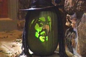 Witch pumpkin decorations for Halloween pumpkin carving. | The Dating Divas