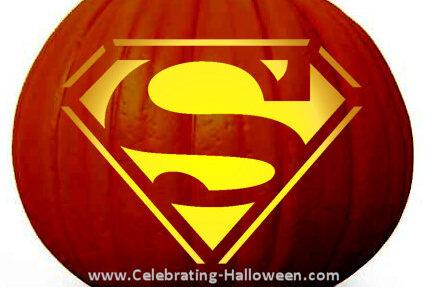 Super Man pumpkin stencils for free. | The Dating Divas