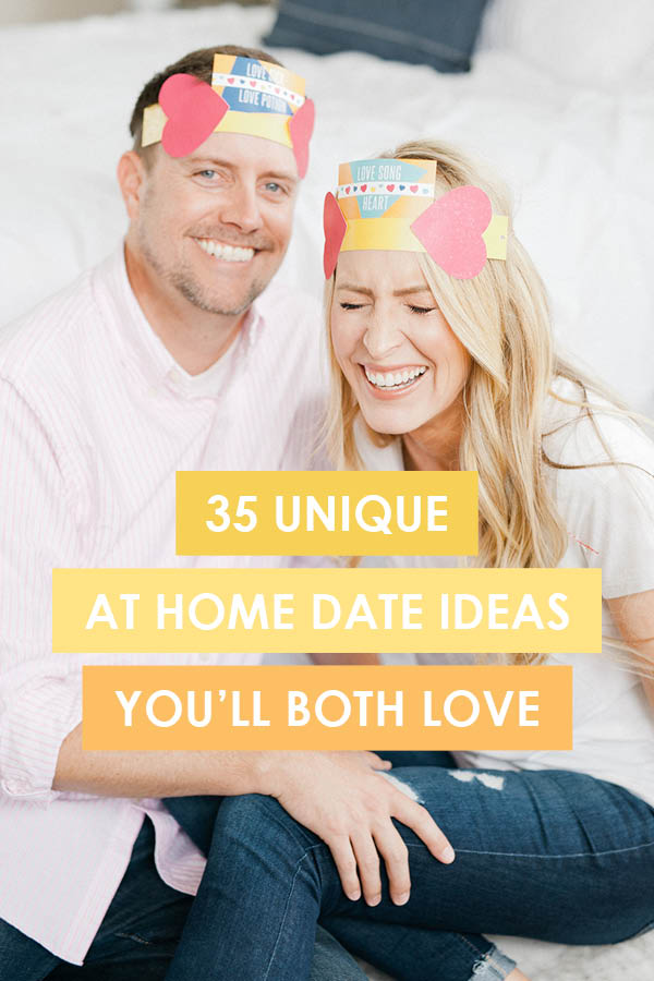 We live on at-home date night ideas over here! I can't wait to try all of these from www.TheDatingDivas.com! We are starting with #32 - yum! #AtHomeDateNightIdeas #RomanticDateNightIdeasAtHome