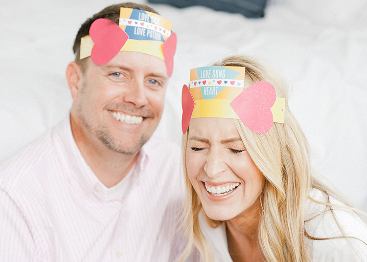 Get giggling with a silly game night at home for date night. | The Dating Divas