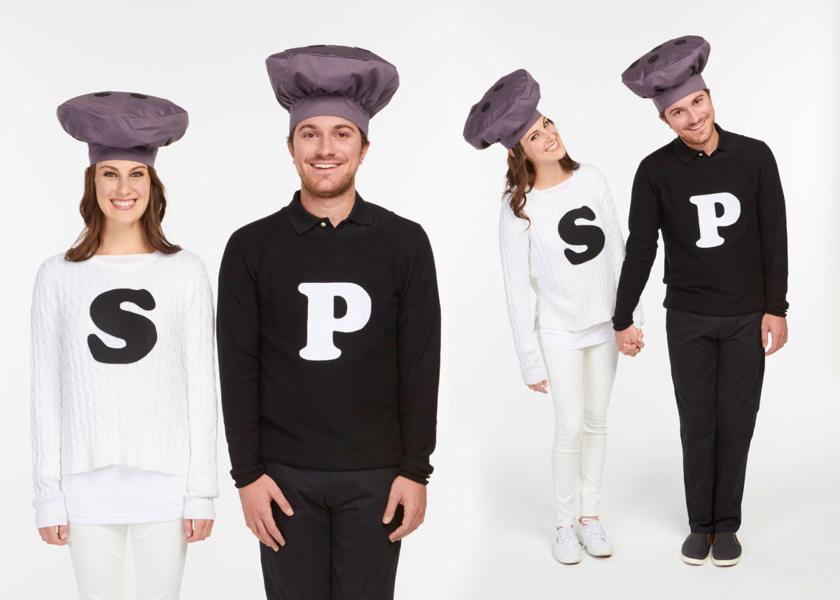 Salt and pepper Halloween costume for you and your boyfriend. | The Dating Divas