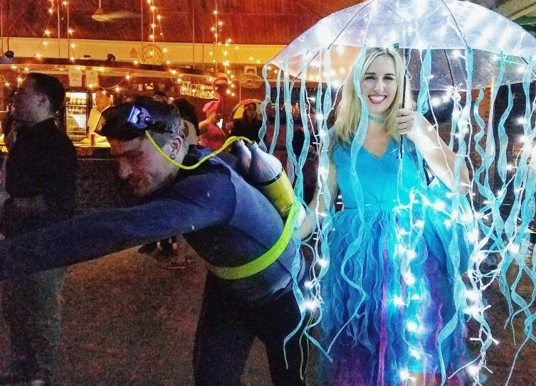 Jellyfish Halloween costume for 2020. | The Dating Divas