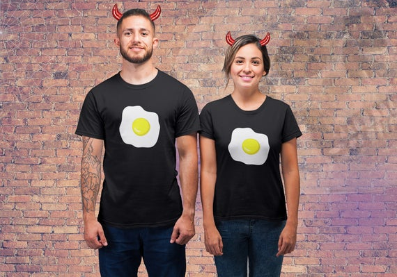 Clever deviled egg couples costume for you. | The Dating Divas