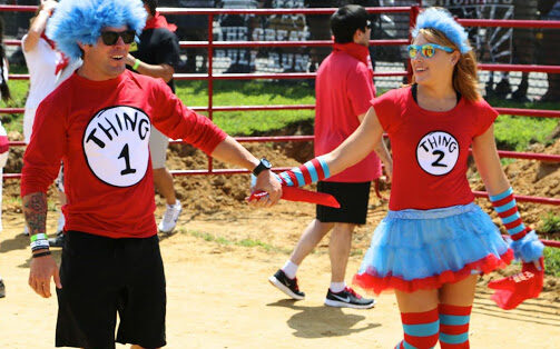 Thing 1 Thing 2 Costume Halloween Costume for you. | The Dating Divas
