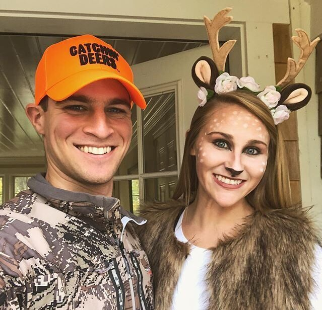 Hunter and deer costume idea for Halloween. | The Dating Divas