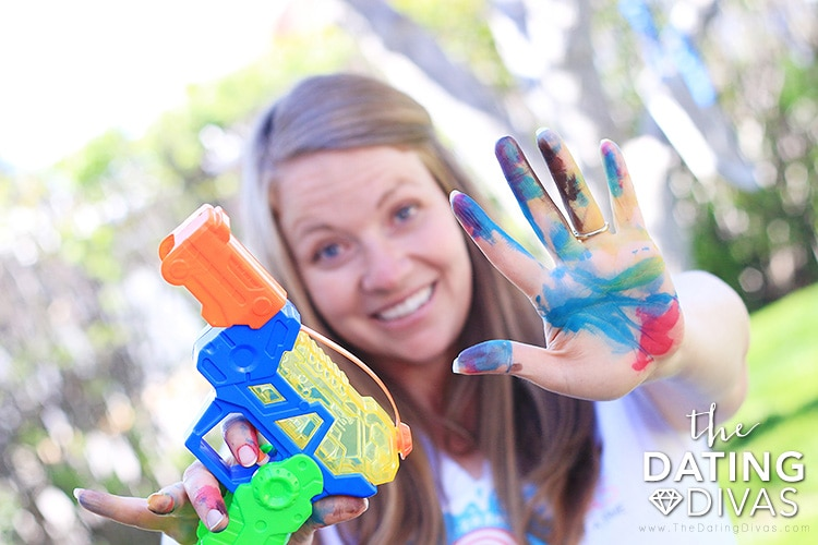 Fun outdoor date night idea for when you need to stay home. | The Dating Divas
