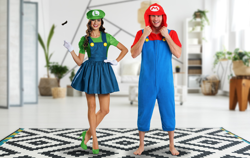 Mario and Luigi Costume for Couples. | The Dating Divas