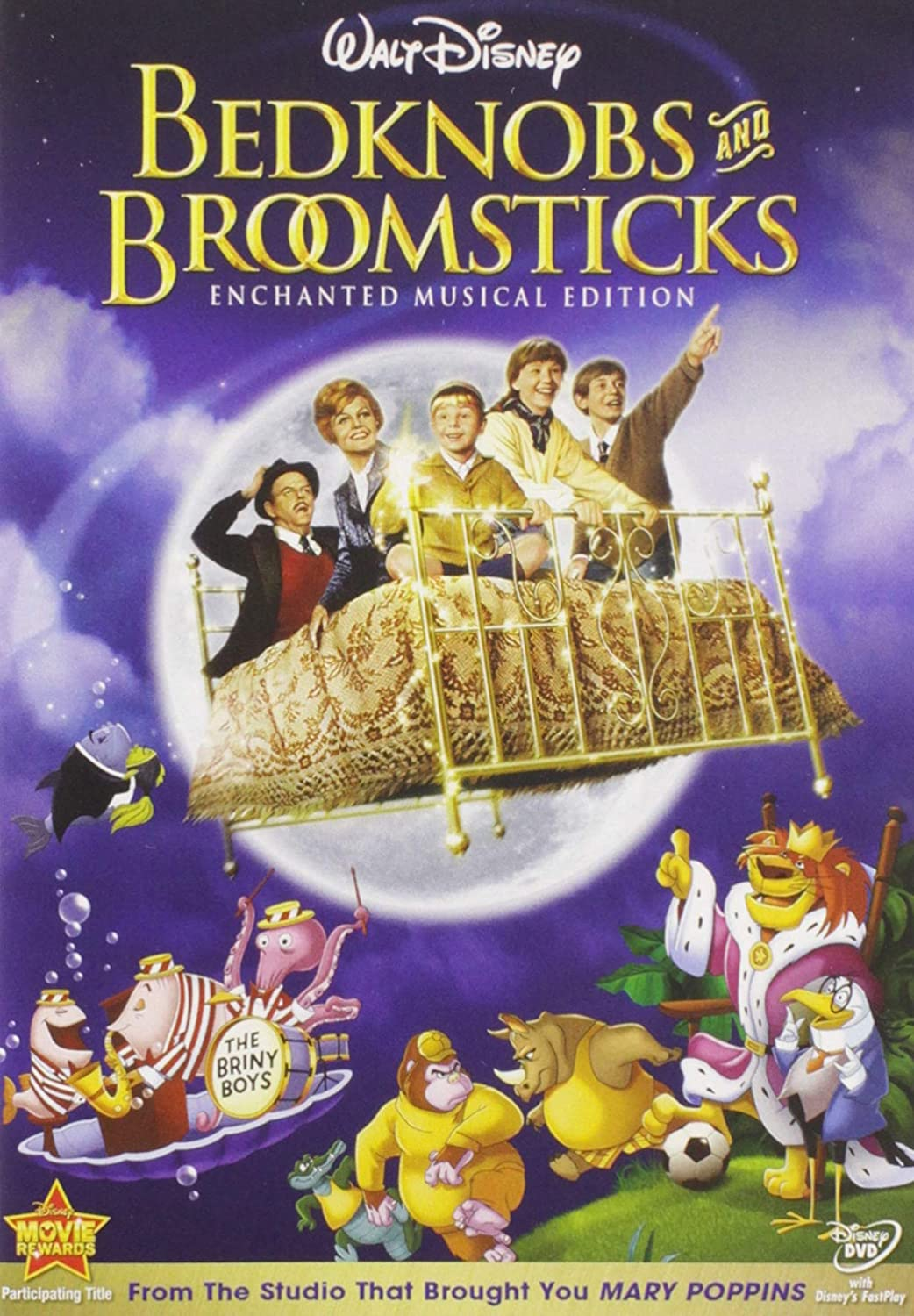 Family Halloween Movies to Watch with Kids: Bedknobs and Broomsticks | The Dating Divas