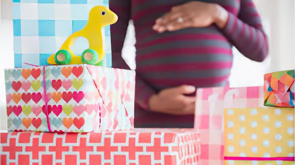 Stocking the Nursery Baby Shower Idea | The Dating Divas