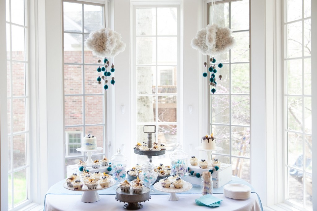 Sweet Blue Baby Shower Theme | The Dating Divas