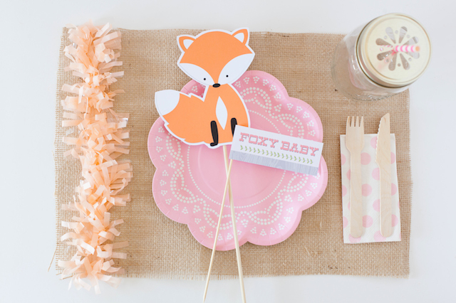 Details and ideas for your fox themed baby shower. | The Dating Divas