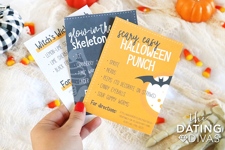 Halloween Date Ideas and Drink for a Party | The Dating Divas