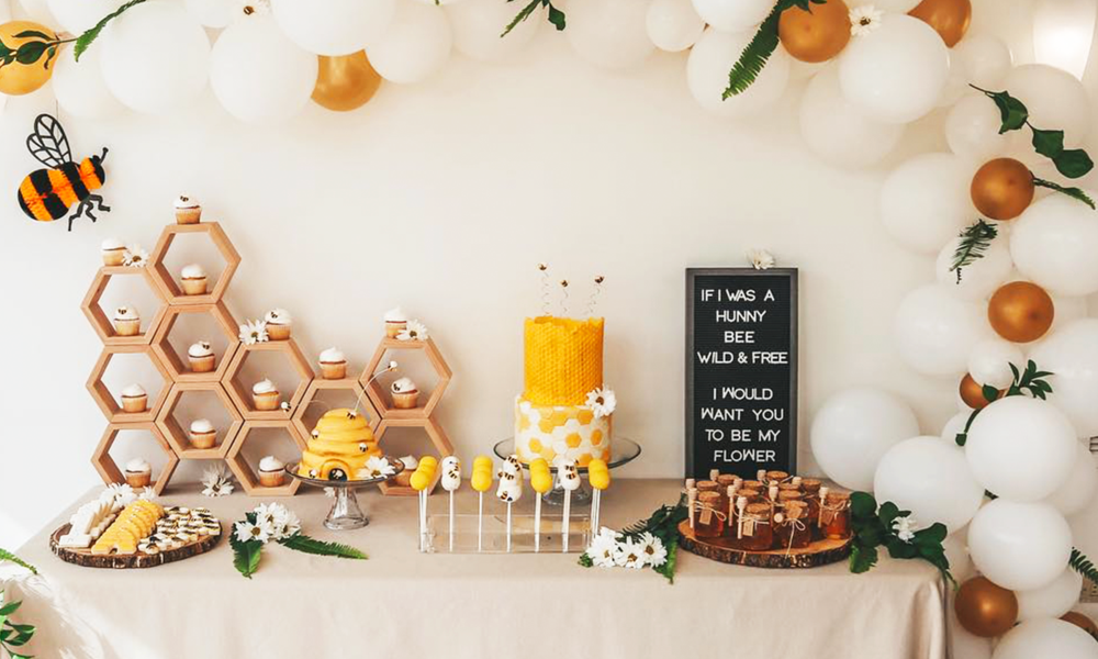 Detailed ideas for your honey bee baby shower. | The Dating Divas