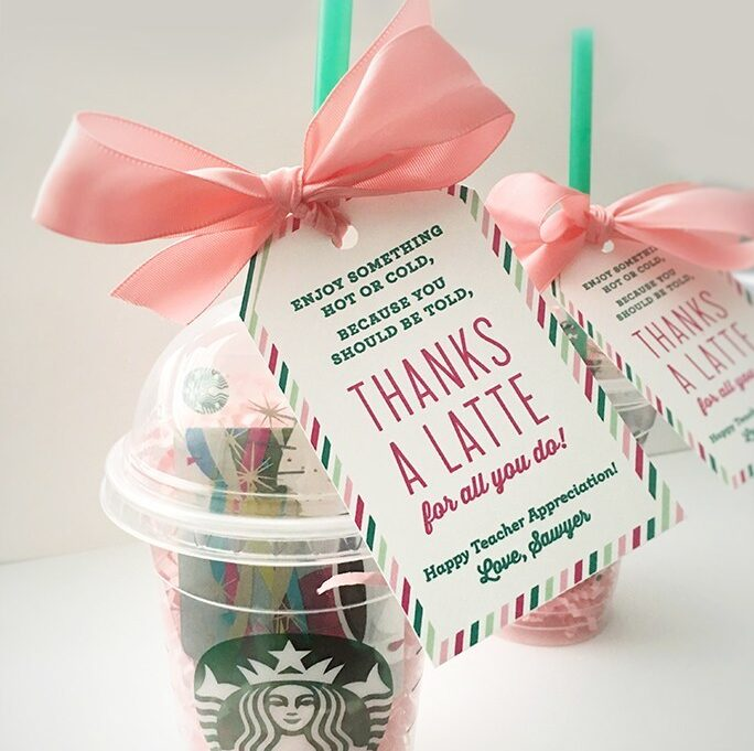 Coffee gift idea that are perfect for teachers. | The Dating Divas