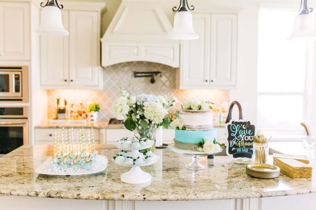 """""""Love You to the Moon and Back"""" Gender Neutral Baby Shower Theme 