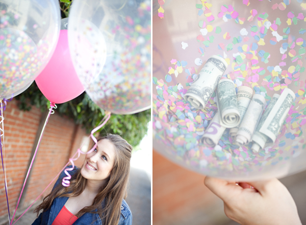 Cute money balloon gifts that are perfect for grads. | The Dating Divas