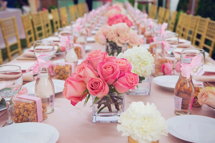 Pretty in Pink Baby Girl Shower Idea | The Dating Divas