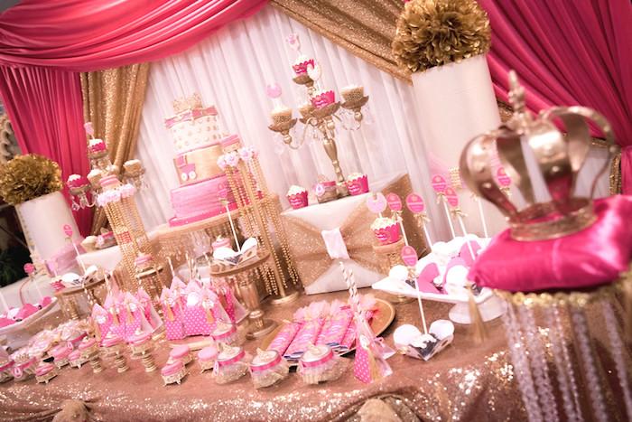 Royal Princess Baby Girl Shower Theme | The Dating Divas