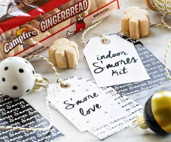 Indoor smores kit that are perfect for a gift. | The Dating Divas