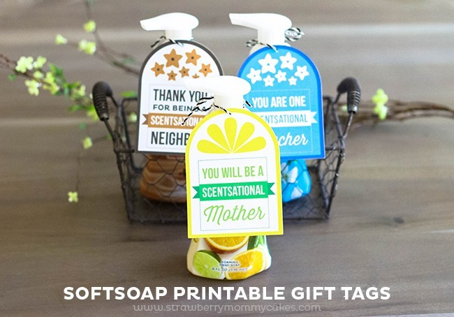 Soap printable gift tags that are perfect for friends and family. | The Dating Divas