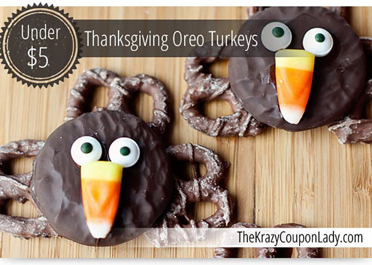 Oreo and pretzel Thanksgiving food ideas. | The Dating Divas