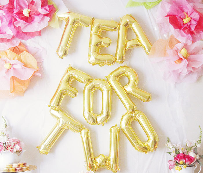 """""""Tea for Two"""" Twin Baby Shower Theme 