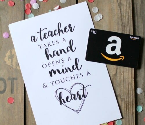 Thoughtful gift idea that are perfect for your teacher. | The Dating Divas