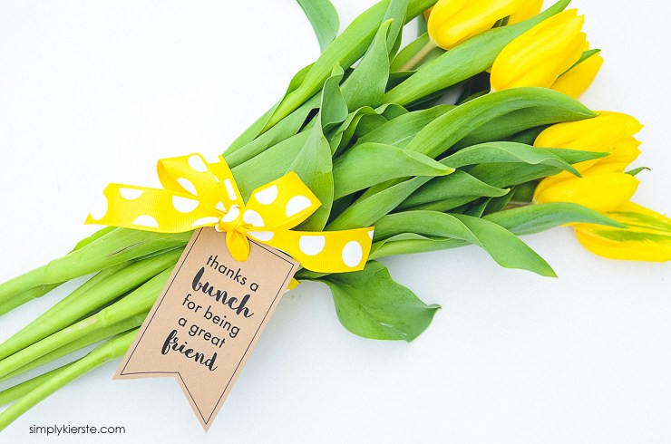 Thanks a bunch flower gift that are perfect for everyone. | The Dating Divas