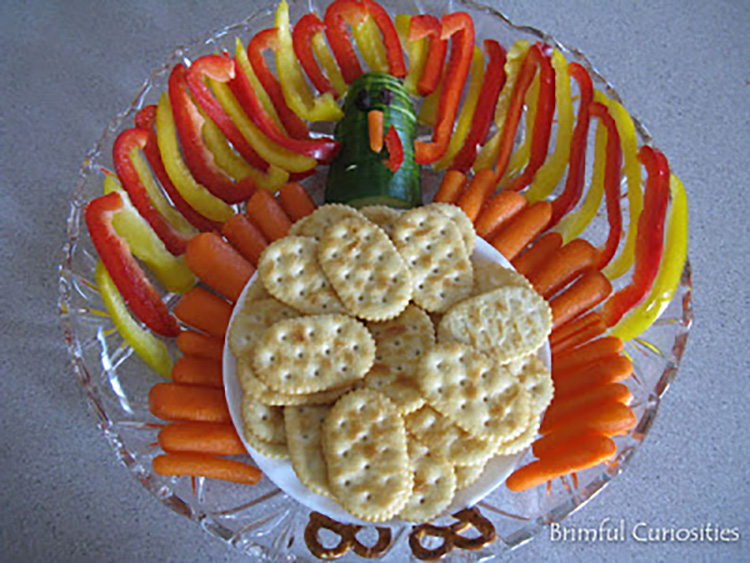 Healthy and fun Thanksgiving finger foods to make your guests happy. | The Dating Divas
