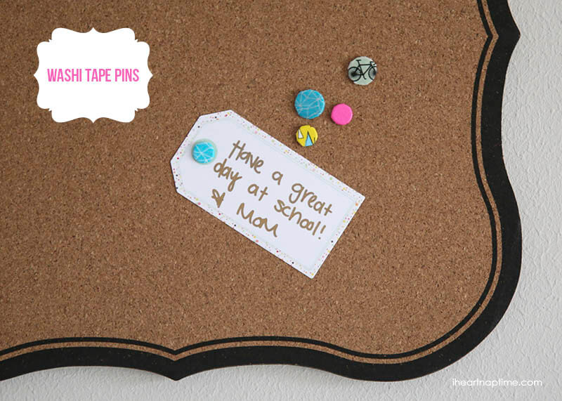 Wash tape pins that are perfect for office. | The Dating Divas