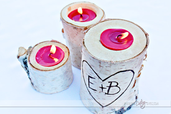 Engraved candle holder gift idea - The Dating Divas
