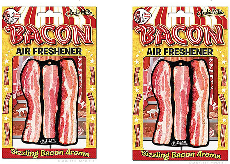 Air fresheners with a sizzling bacon aroma | The Datitng Divas