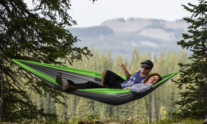Two-person hammock for couples - The Dating Divas