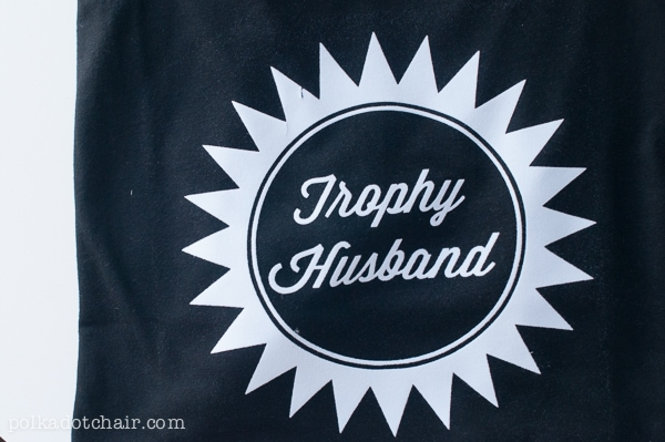 Trophy Husband T-shirt for an Easy Christmas Gift Idea | The Dating Divas