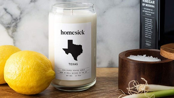 Candles designed by specific state for a sentimental gift idea - The Dating Divas