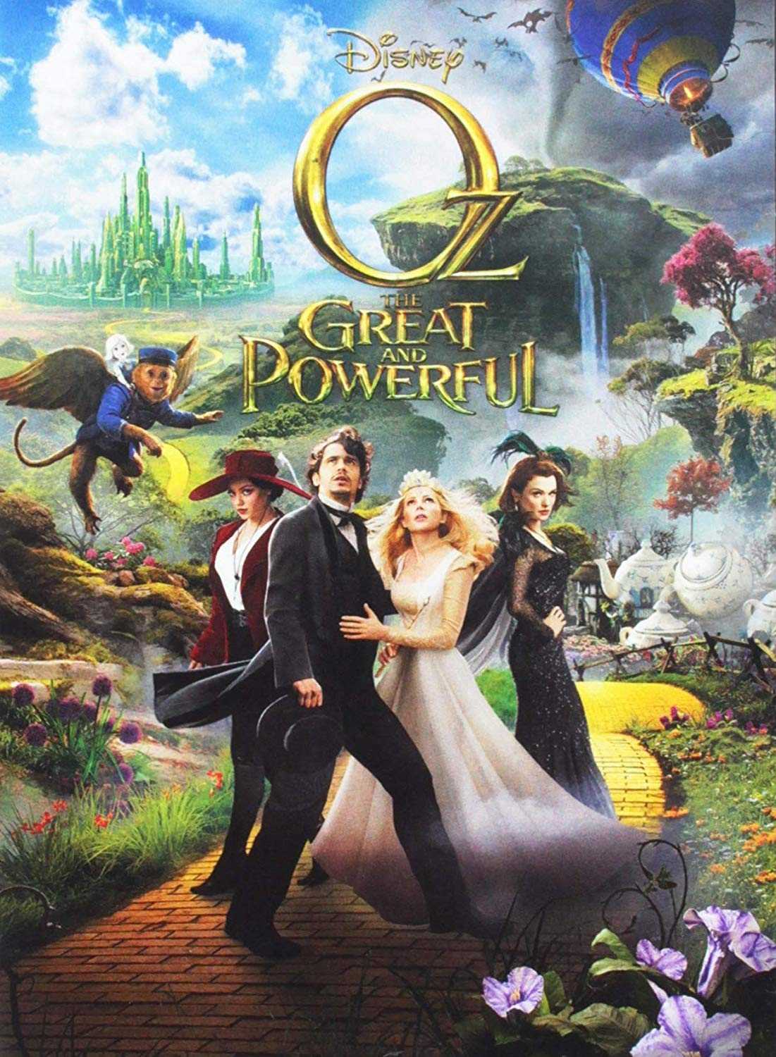 Oz: The Great and Powerful with James Franco is a perfect movie for families   The Dating Divas