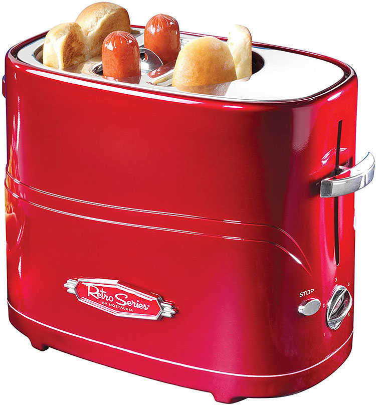 A toaster for cooking hot dogs and buns | The Dating Divas