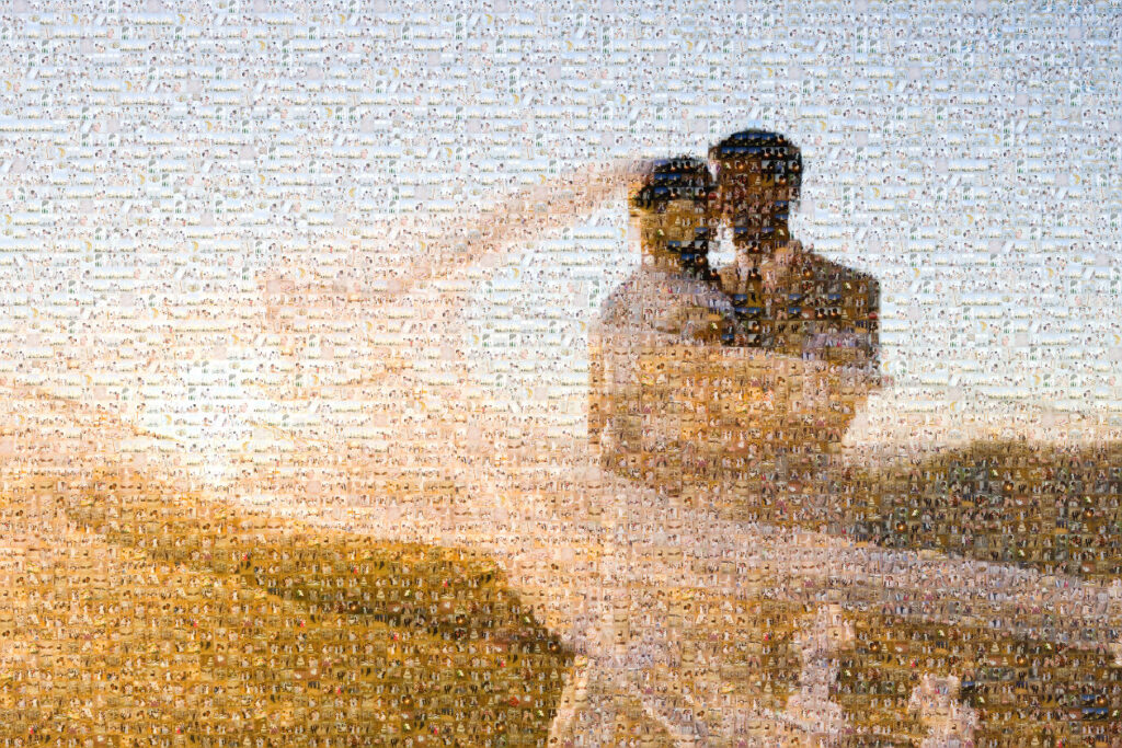 A Photo Mosaic Christmas gift that will melt his heart   The Dating Divas