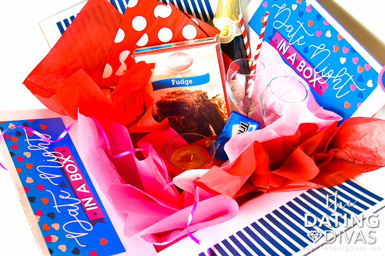 Date Night in a Box for the perfect Valentine's Day gift | The Dating Divas