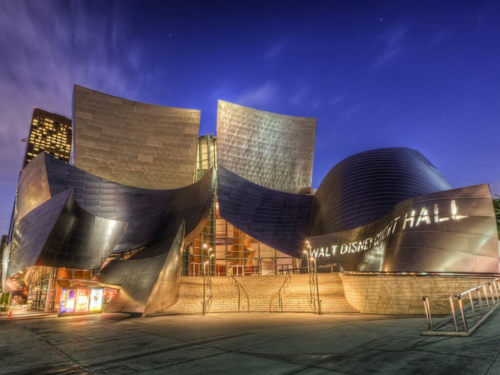 Walt Disney Concert Hall date idea in Los Angeles| The Dating Diva
