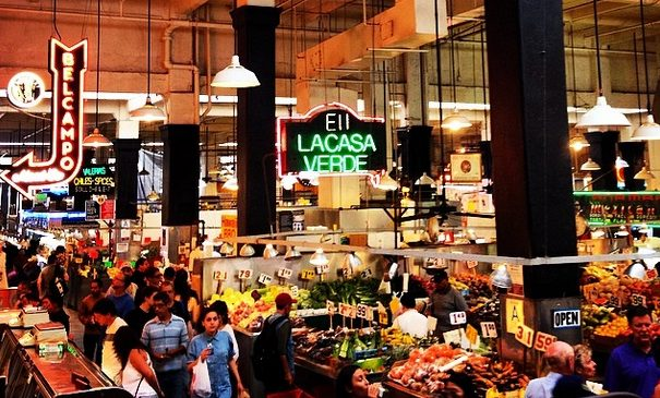 Free date idea adventuring throughout the grand central market. | The Dating Diva