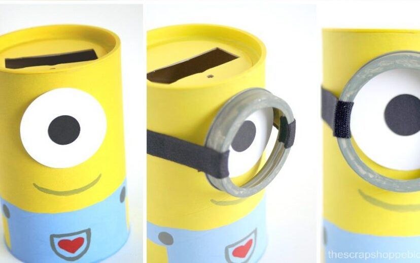 Despicable Me Minion Valentine's Day box to use at school | The Dating Divas