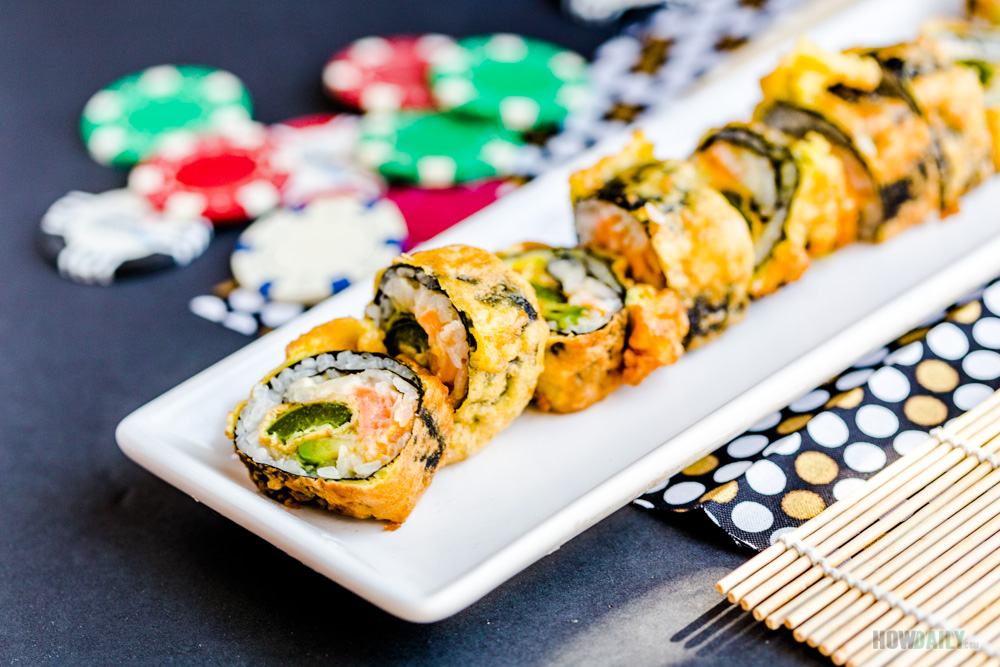 Las Vegas Sushi Roll you can make from home. | The Dating Divas