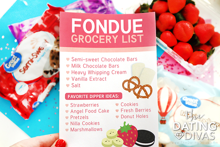 List of chocolate fondue dipper ideas and delicious chocolate fondue recipes | The Dating Divas